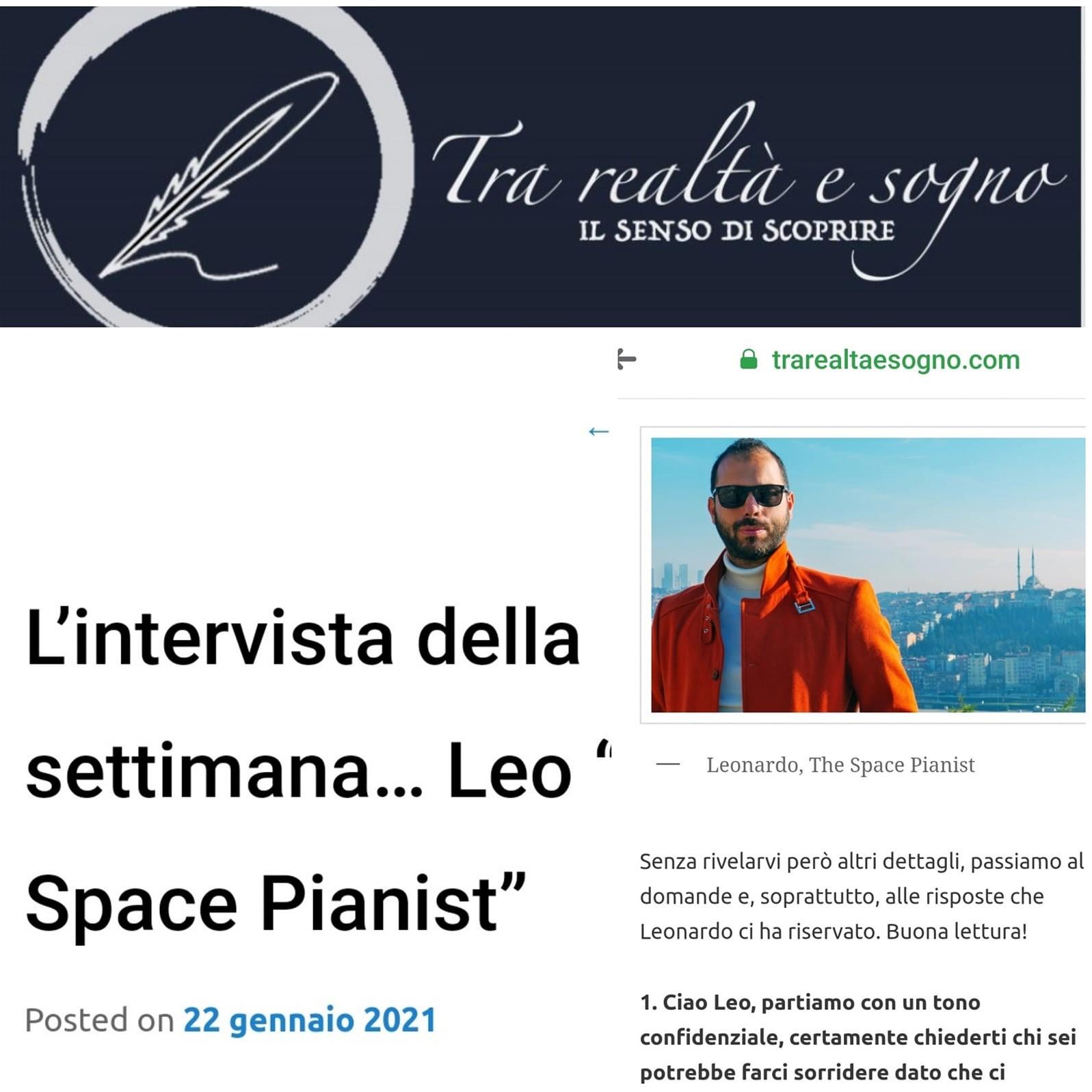 Interview for 'Tra Realtà e Sogno'