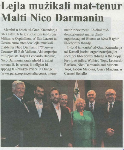 Maltese press clip