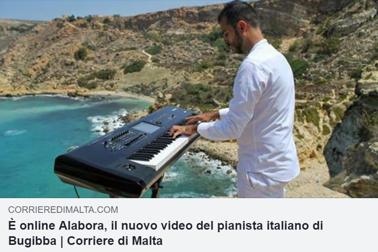 Nullo die sine nota on Corriere di Malta press clip