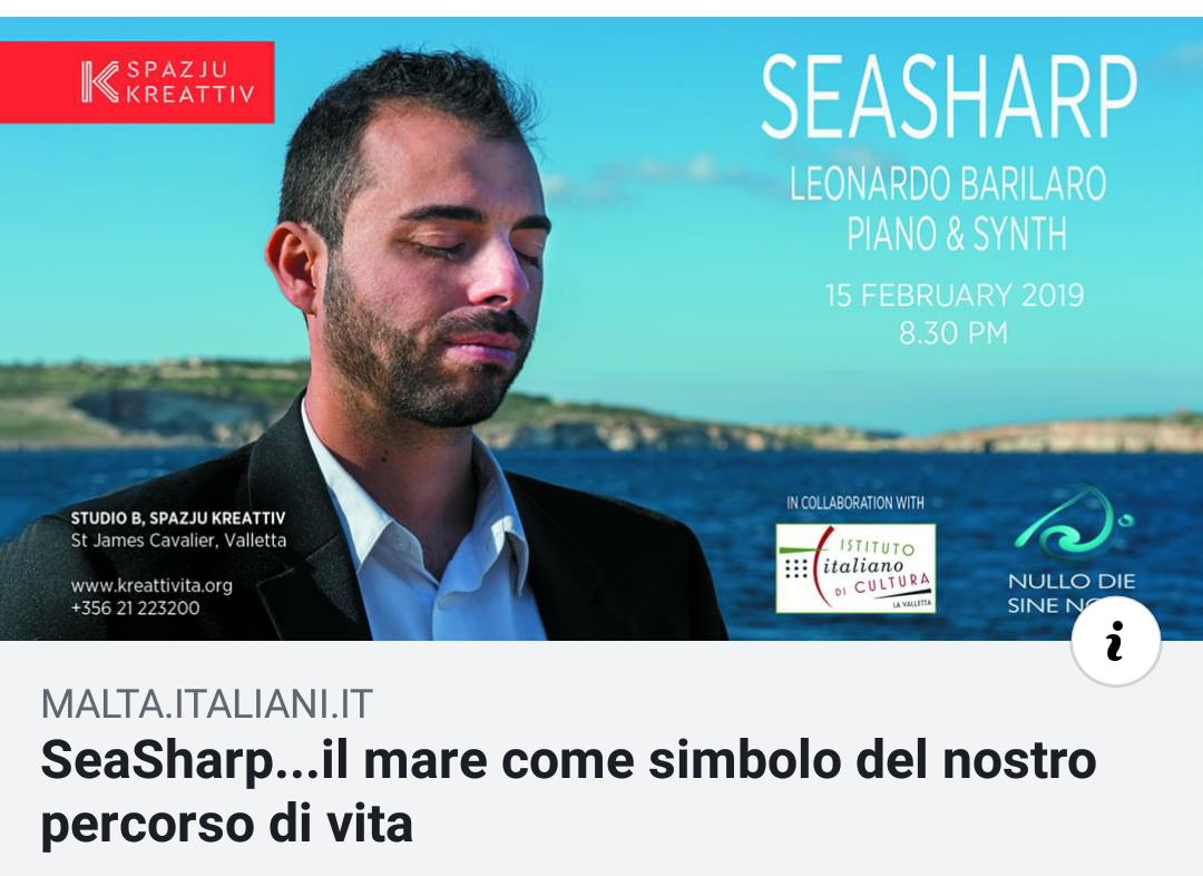 SeaSharp Premiere concert on Italiani.it