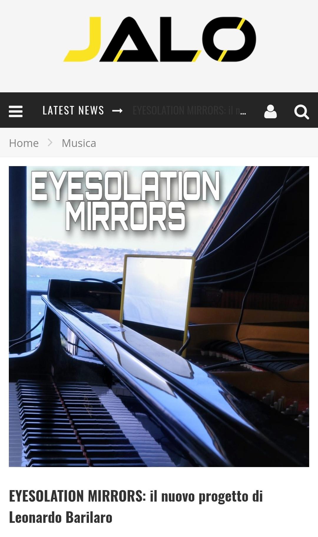 Eyesolation Mirrors on JALO
